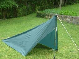 Backpacking Tarp Tent Mk TT 1 Man Ultralight weight 10.4 oz