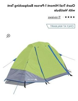 Ozark Trail Himont 1-Person Backpacking Tent with Vestibule