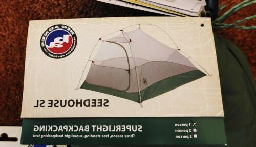 Big Agnes *With Superlight Backpacking Tent