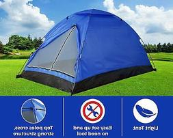Light Outdoor Camping Tent Tourist Backpacking Portable Comp