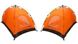 Lot of 2 Instant Automatic Pop Up Backpacking Camping Hiking