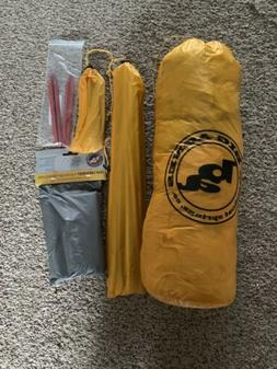 Big Agnes Tiger Wall UL2 Backpacking Tent And Footprint. Bra
